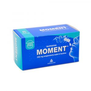 Moment Os Sospensione Orale 8 Bustine 200 mg