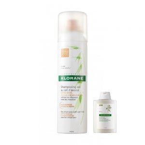 Klorane Shampoo Secco Avena 150ml