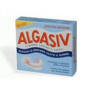Algasiv Adesivo Protesi Inferiore 15 pz