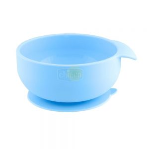 Chicco Ciotola Silicone Blu