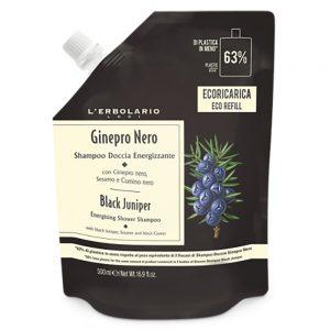 Ginepro Nero Bagnoschiuma Ecoricarica 500 ml