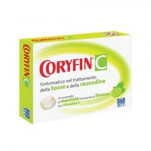 Coryfin C 24 caramelle limone