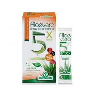 Aloe Vera 5X Con Antiossidanti 14 bustine