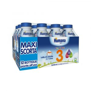 Humana 3 Multipack 12x470ml-bottiglia