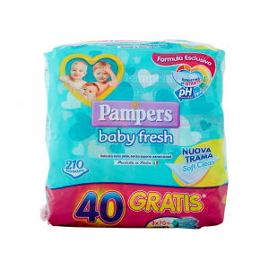Pampers Baby Fresh Formula Esclusiva 210 pezzi