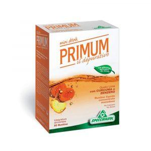 Primum Depurativo Lime Curcuma Zenzero 20 bustine