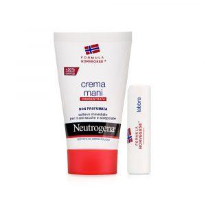 Neutrogena Mani Non Profumato + Lipstick
